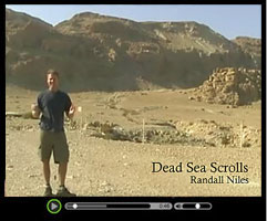 Dead Sea Scrolls - View short video clip