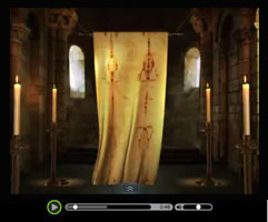 Shroud of Turin - View short video clip